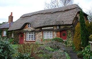 Slindon village in the United Kingdom