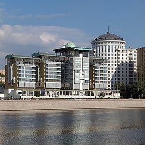 Embassy of the United Kingdom in Moscow - Image: Smolenskaya Nab 10 03