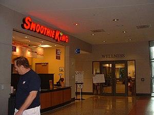 Smoothie King - A Smoothie King at the University of Houston