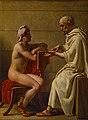 Socrates and Alcibiades, Christoffer Wilhelm Eckersberg.jpg