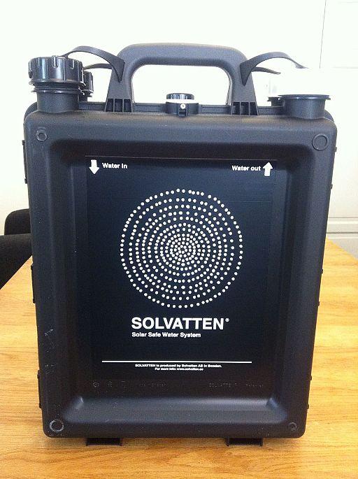 Solvatten unit