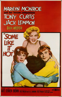 <i>Some Like It Hot</i> 1959 comedy film directed by Billy Wilder