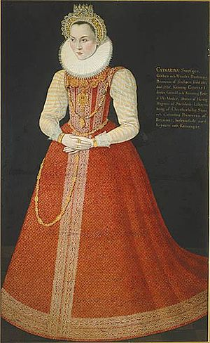 Princess Sophia of Sweden - Image: Sophia of Saxe Lauenburg (1568)