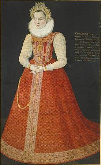 Princess Sophia of Sweden - Image: Sophia of Saxe Lauenburg (1568)
