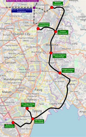 Southeast Metro Manila Expressway - Wikipedia