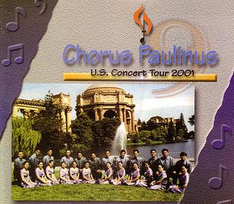 Chorus Paulinus - The Chorus Paulinus U.S. Concert Tour in 2001