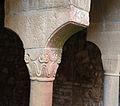 Sovicille, pieve di ponte allo spino, resti dell'antico chiostro (ripristinati negli anni '50) 02.JPG