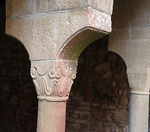 Pieve di Ponte allo Spino, resti dell'antico chiostro
