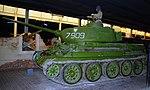 Soviet T.34 tank, Land Warfare Hall, Imperial War Museum, Duxford. (31023344345).jpg