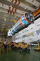 Soyuz TMA-11M in Baikonur processing facility (201311040013HQ).jpg