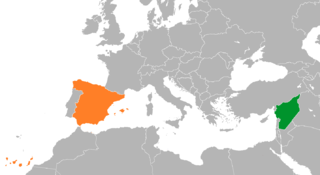 Spain–Syria relations