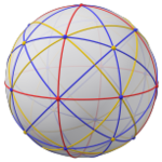 Spherical polyhedron with great circles, 8 ryb.png