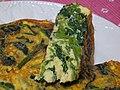 Spinach omelette (3278835124).jpg
