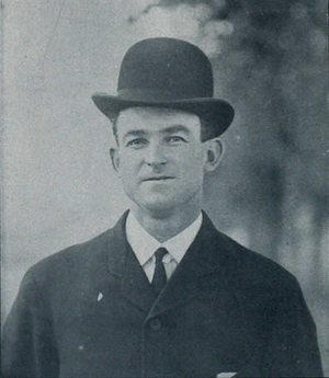 Sport McAllister - McAllister from the 1906 Michiganensian