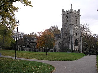 Stepney - Image: St. Dunstan's Church, Stepney, East London geograph.org.uk 608397