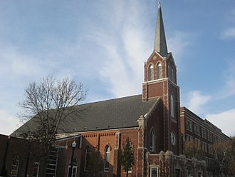National Shrine of Saint Joseph (De Pere, Wisconsin) - The shrine is located inside St. Joseph Church