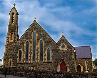 Larne - St. MacNissi's Church, Larne