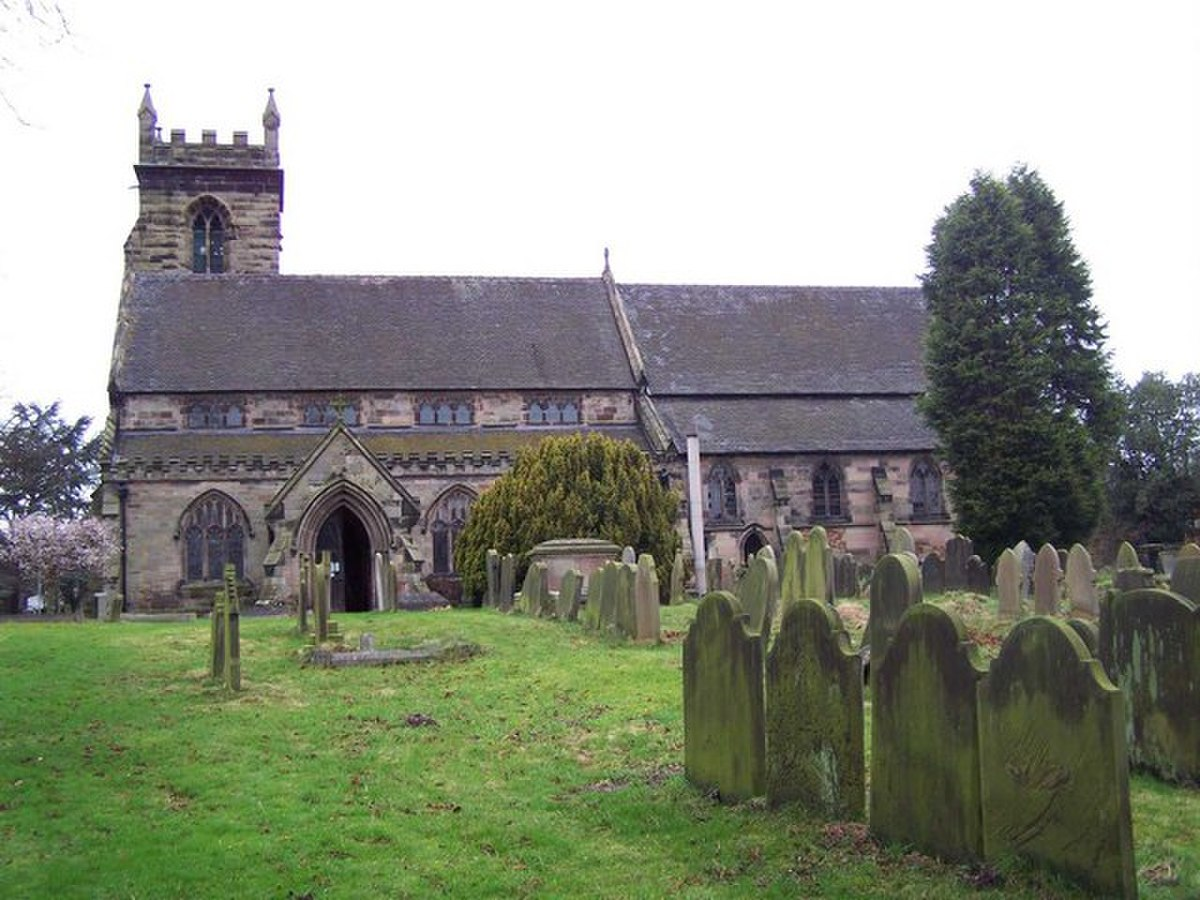 St. Michael and All Angels, Colwich - geograph.org.uk - 662519.jpg