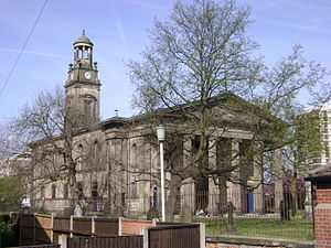 George Basevi - St Thomas' Church, Stockport