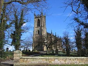 Birdsall, North Yorkshire - St Mary's Church, Birdsall