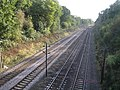 St Albans, Railway line at the Sandridge Road bridge - geograph.org.uk - 588879.jpg
