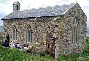 Farne Islands - St Cuthbert's Chapel