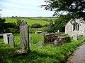 St Cwyllog's churchyard, Llangwyllog - geograph.org.uk - 932296.jpg