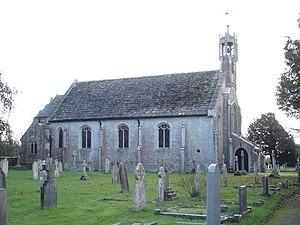 Holdenhurst - Image: St John the Evangelist Church, Holdenhurst geograph.org.uk 283113