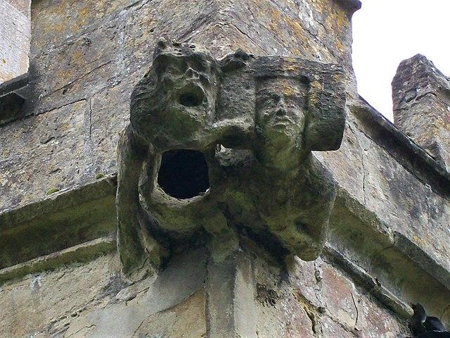 Gargoyle on St Mary's Church in Devizes, Wiltshire