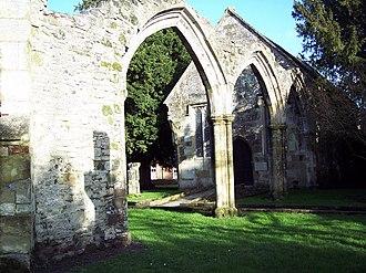 Wulfthryth of Wilton - St Mary's church, Wilton
