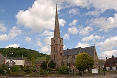 St Michael and All Angels Church, Mitcheldean - geograph.org.uk - 808678.jpg
