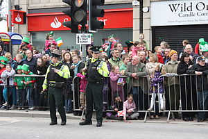 Police Service of Northern Ireland - St. Patricks Day, Downpatrick, 2011