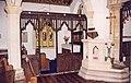 St Peter, Snailwell - Pulpit - geograph.org.uk - 1150063.jpg