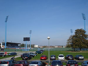 Stadion Mladost, Čakovec - reflektori