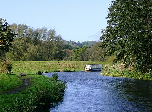Staffordshire and Worcestershire Canal north of Kidderminster - geograph.org.uk - 1023153