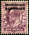 Stamp UK Morocco 1907 6p.jpg
