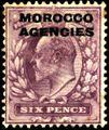 Stamp UK Morocco 1907 6p.jpg