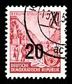 Stamps GDR, Fuenfjahrplan, 24 (20) Pfennig, Offsetdruck 1954, 1957.jpg