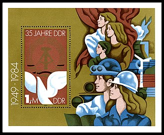 Stamps of Germany (DDR) 1984, MiNr Block 079.jpg
