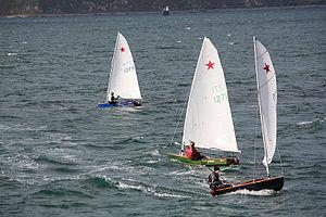 Starling (dinghy) - Racing Starlings