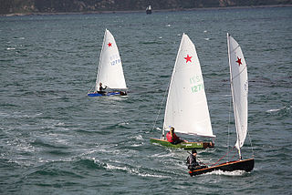Starling (dinghy) sailing dinghy designed by Des Townson
