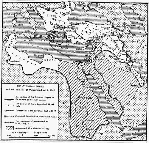 States under Muhammad ali's rule