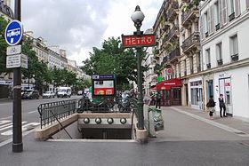 Filles du calvaire m tro de paris wikimonde - Porte de charenton metro ...