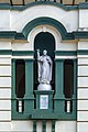 Statue of St. Francis Xavier at St. Xavier's School, Kolkata 20 2b.jpg