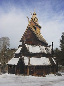 Stave church Gol in wintertime.jpg