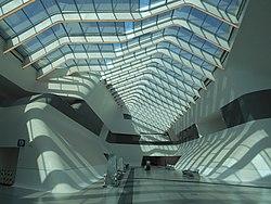 Stazione alta velocita, Zaha Hadid, Napoli Afragola.jpg