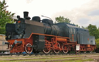 TCDD Open Air Steam Locomotive Museum - Image: Steam locomotive No.34061 Ankara Museum