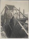 Steel framework for the Sydney Harbour Bridge, 1928 (8282701179).jpg