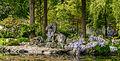 Stenen object aan overkant van het water. Locatie, Chinese tuin Het Verborgen Rijk van Ming in de Hortus Haren 02.jpg