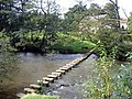 Stepping stones over the River Esk at Lealholm - geograph.org.uk - 561199.jpg